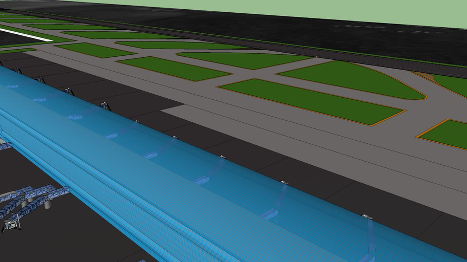 New Airport For Miami Beach (45% Complete)