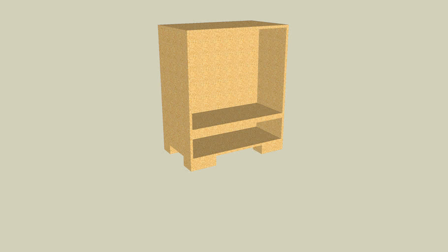 Plywood T.V. Case