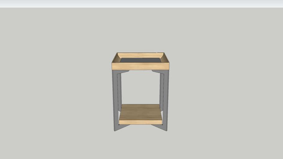 Estampe Bedside Table