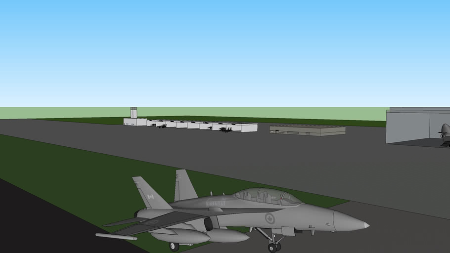 military airport