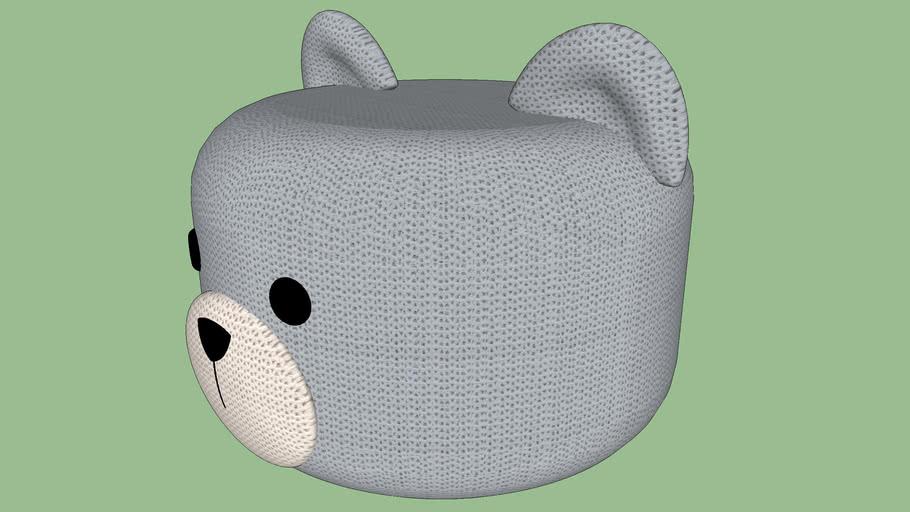 Puff Big Urso - Kinder Design