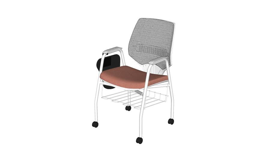 Cadeira c/ 4 Rodízios e Grade Marelli - You 220BPD