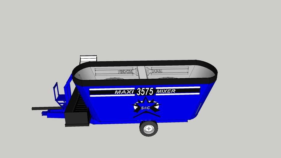 Sioux automation Feeder wagon
