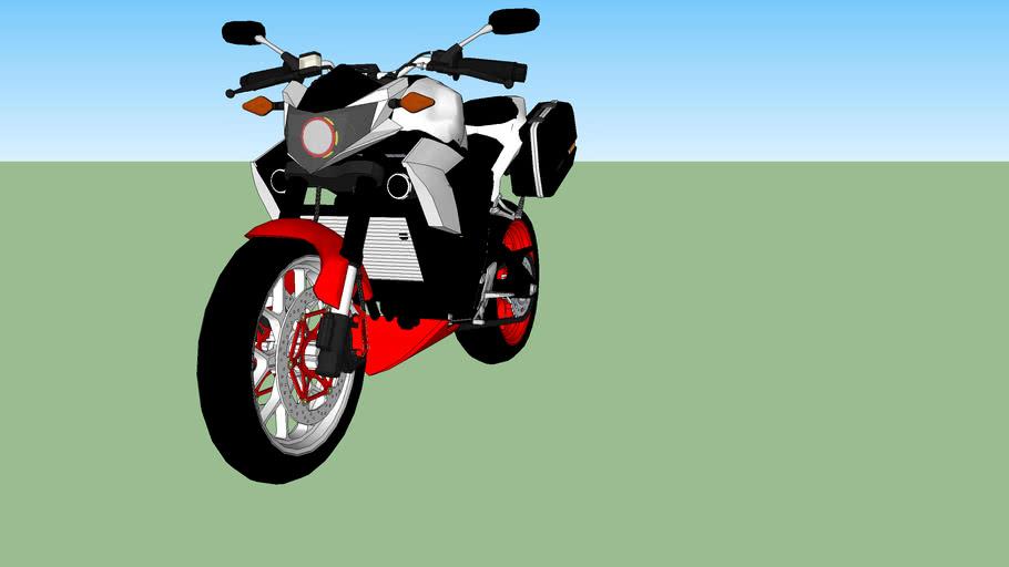 Yamaha R25 advanture