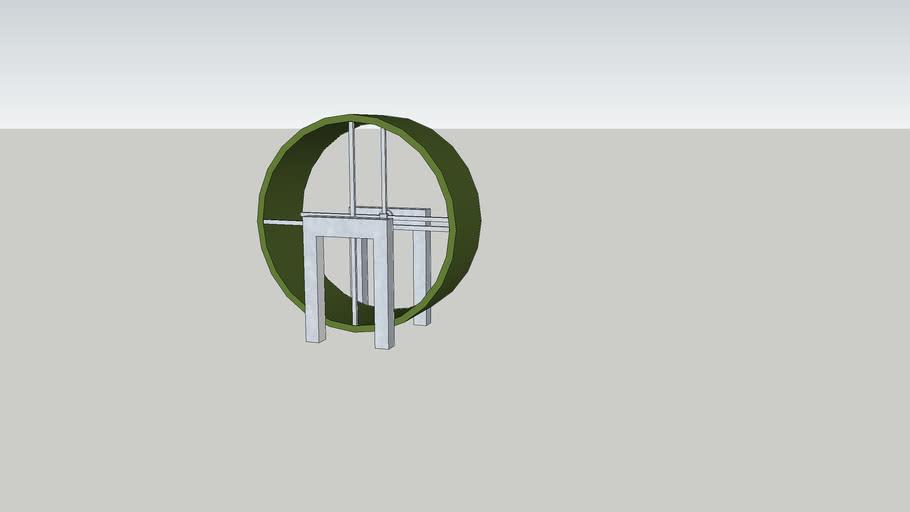 huge hamster wheel 2.0