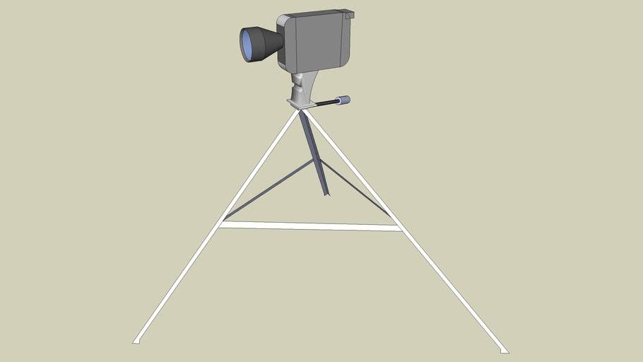 Super 8 MM movie Camera with Tripod