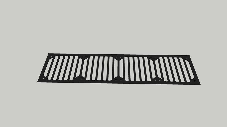 4 120mm fan grill (custom)