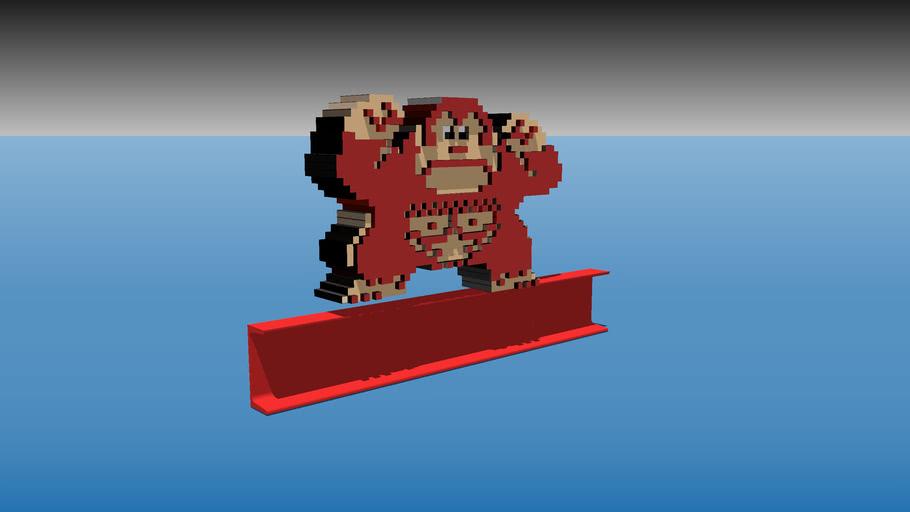 Better Donkey Kong 3D
