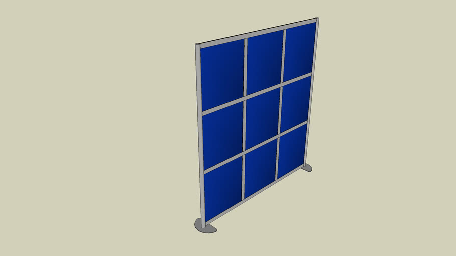 """BLOX Acoustic Room Divider (76""""W X 78""""T)"""