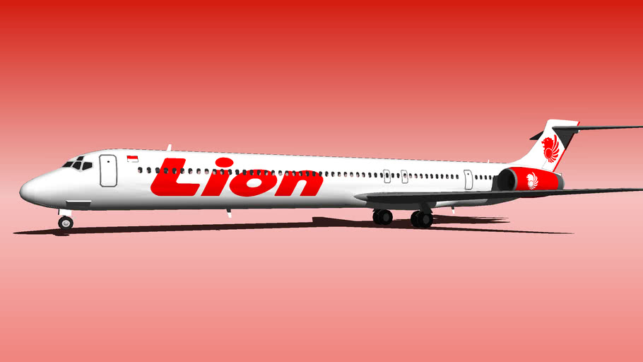 Lion Air McDonnell Douglas MD-90