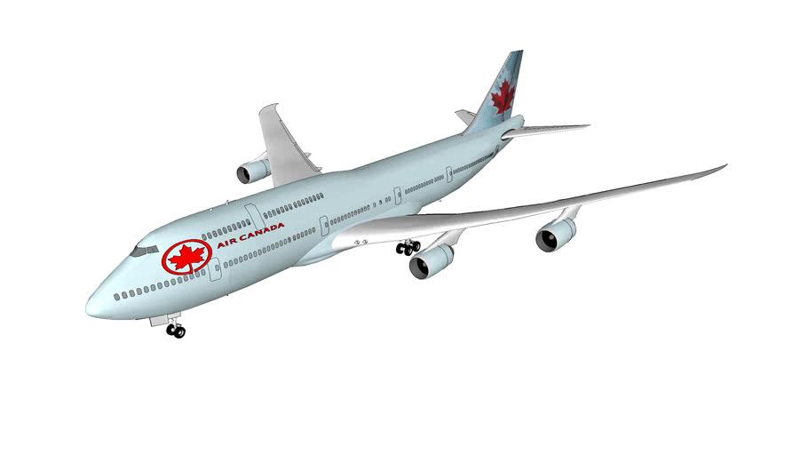 Air Canada Boeing 747-8I
