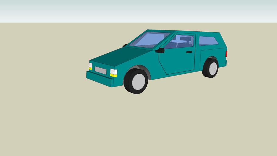 Green Honda Civic