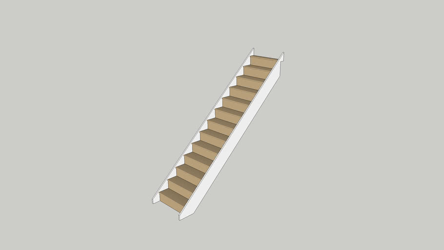 research.unir.net Home & Garden Stairs Whitewood Closed Tread 13 ...