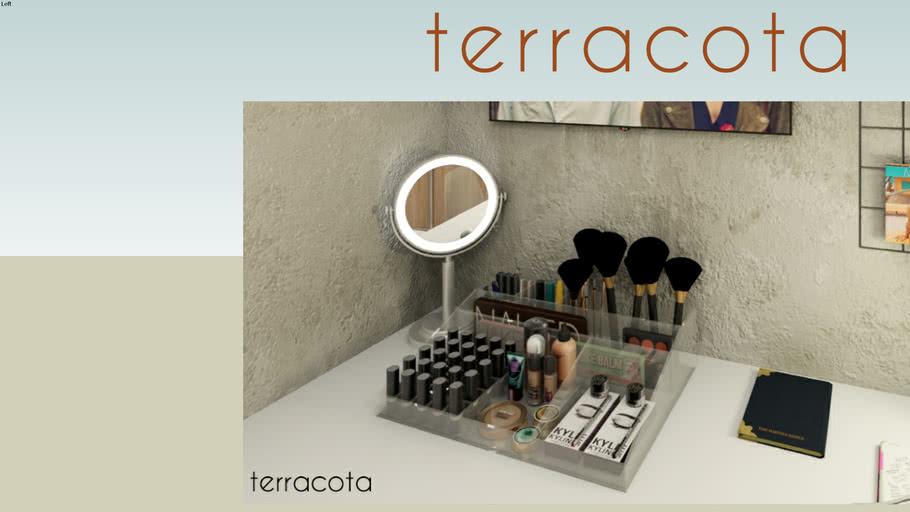 Organizador de maquiagem - ACRILICO