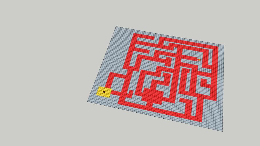 Labyrinth Floor 1 model