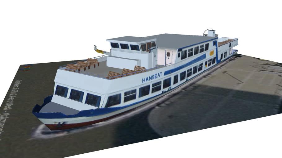 Fahrgastschiff Hanseat