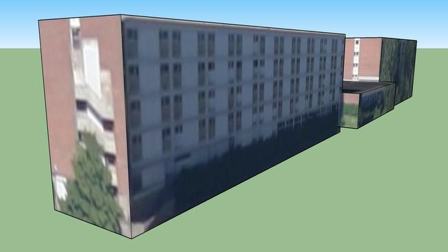 Bâtiment situé 59370 Mons-en-Barœul, France