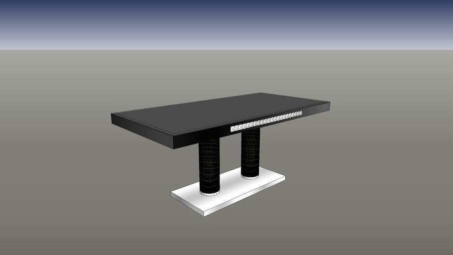 水鑽餐桌,新悅家具訂製