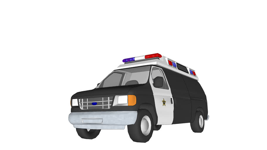 Ford Ambulance converted to paddy wagon