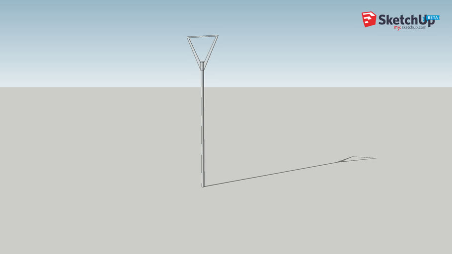POSTER POLE - outdoor lighting