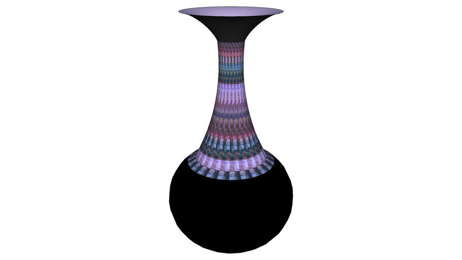 black vase(please rate)
