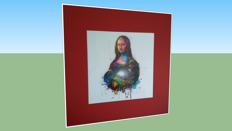 Quadro moderno Mona Lisa