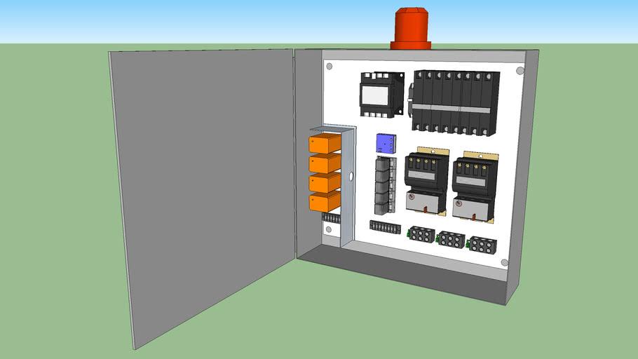 Sample Duplex Pump Control Panel