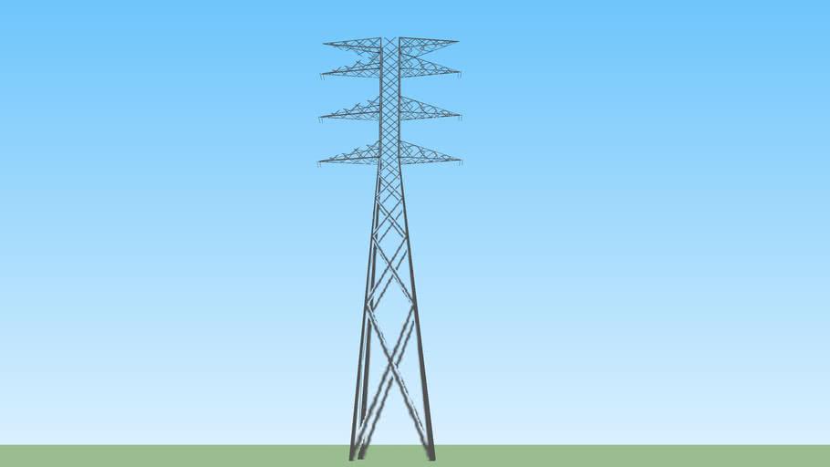 Torre electrica 2 Mpio. Libre, Reserva Territorial Atlixcáyotl