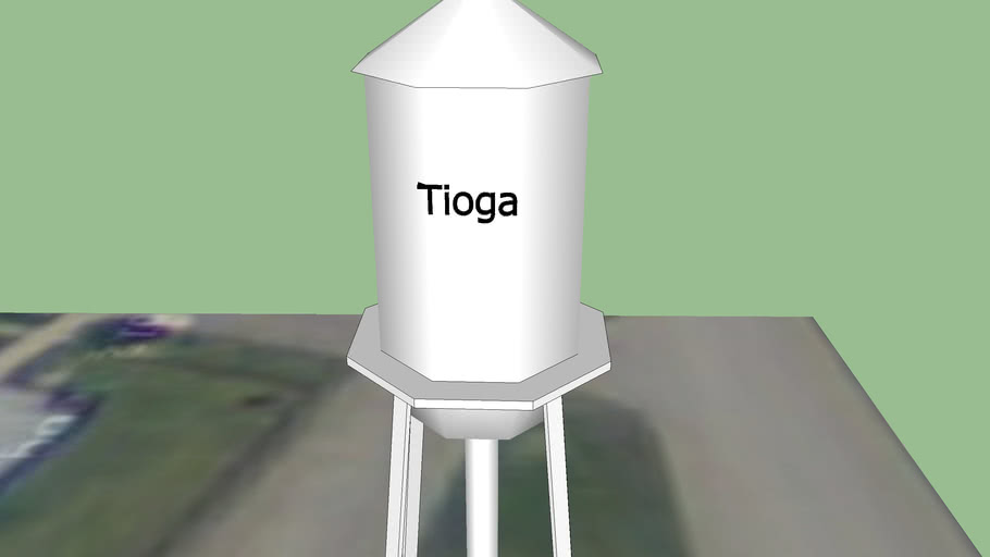 Tioga Water tower