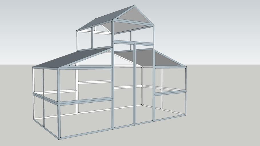Greenhouse model 6'X12'