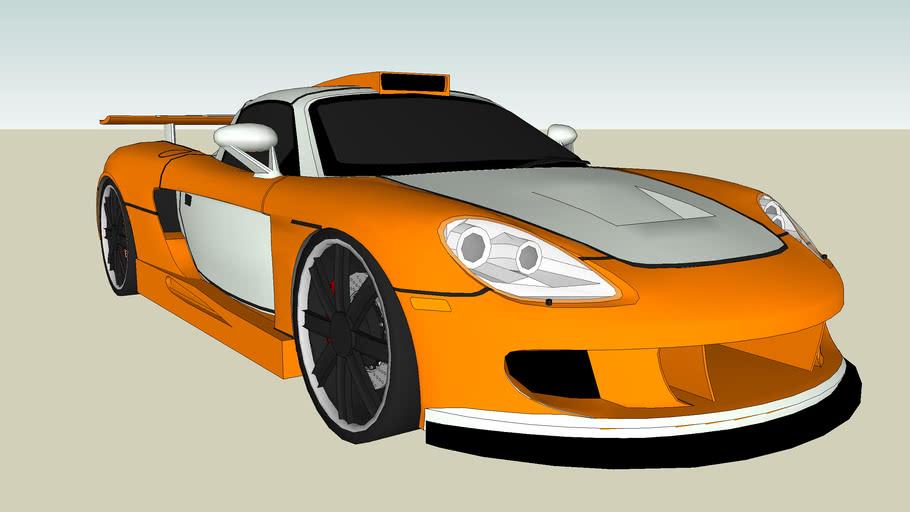 Porsche Carrera GT (Gemballa Mirage GT)