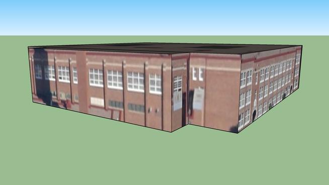 Building in Minneapolis, Minnesota, Amerika Birleşik Devletleri