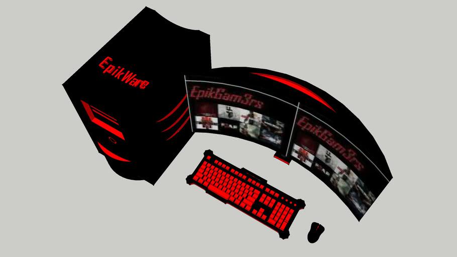 Gaming Desktop Set