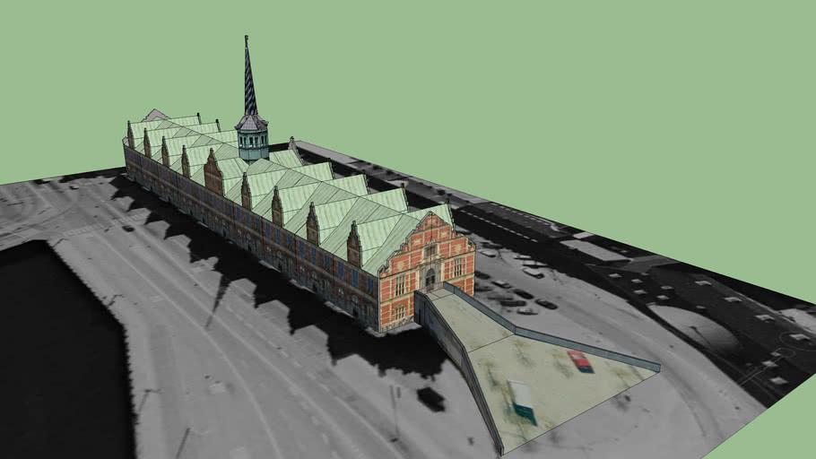 'Boersen' - the Bourse of Copenhagen