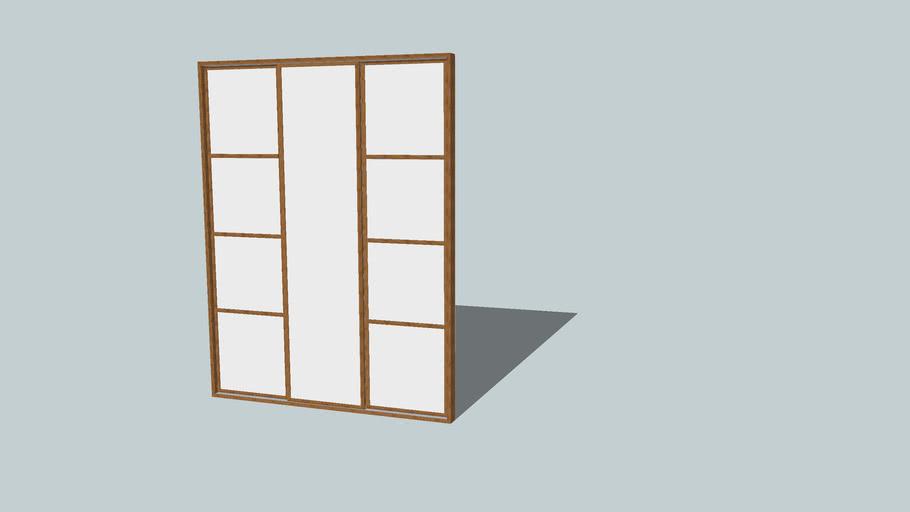 wardrobe, sliding doors in the closet, дверь в шкаф