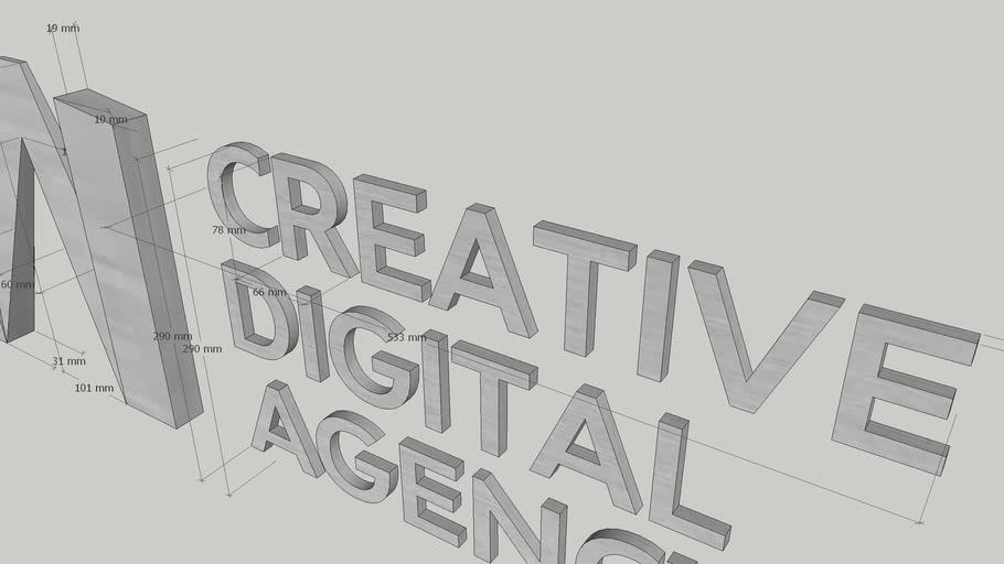 Biển Chữ JAI CREATIVE - Signal Board