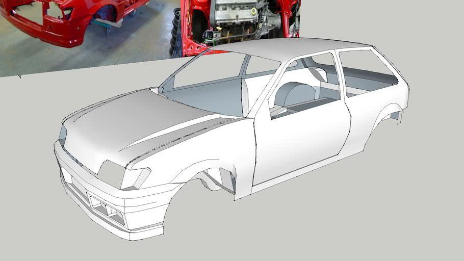 Ford Fiesta XR3i