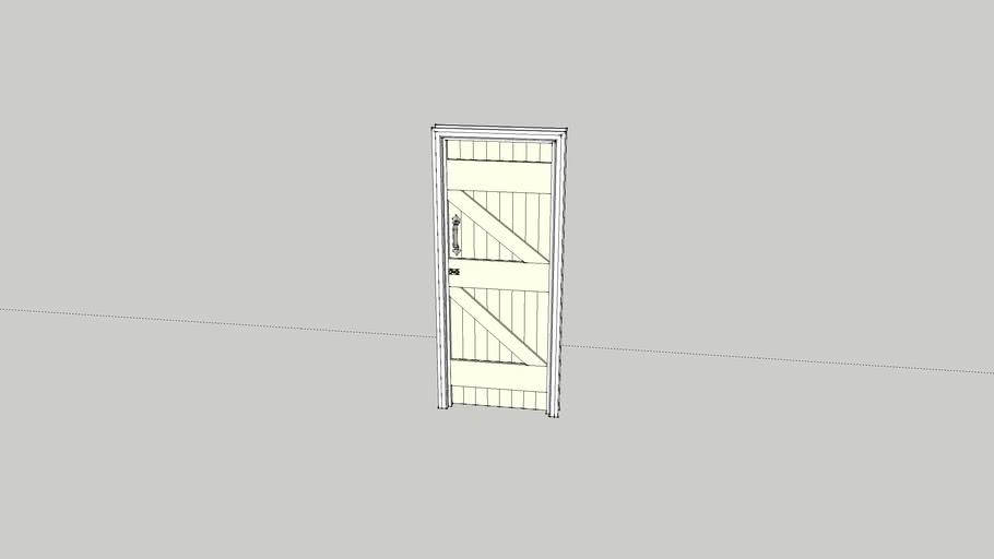 Batten Door  with latches