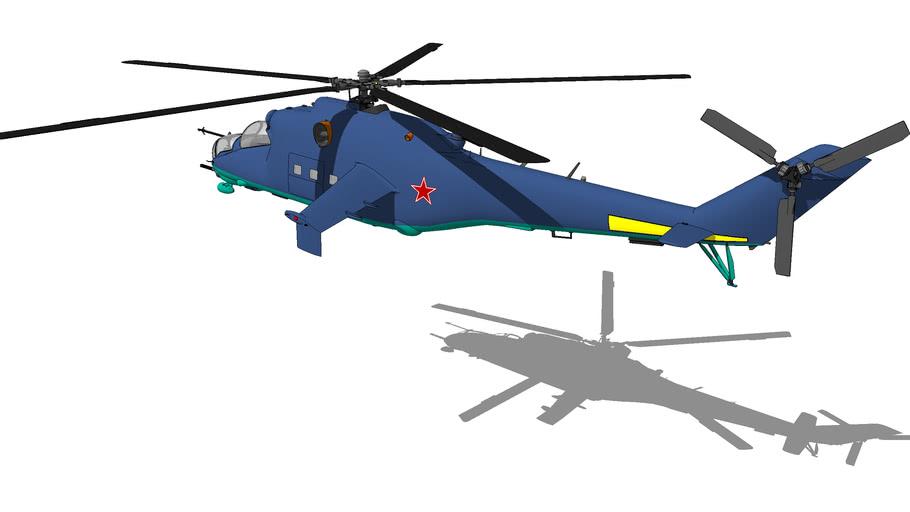 """Mil Mi-24 """"Hind"""""""