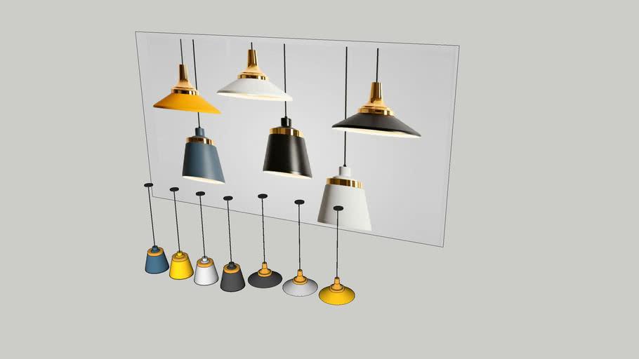 Đèn thả chao nhôm hiện đại THCN07 ( Modern Hanging lighting)