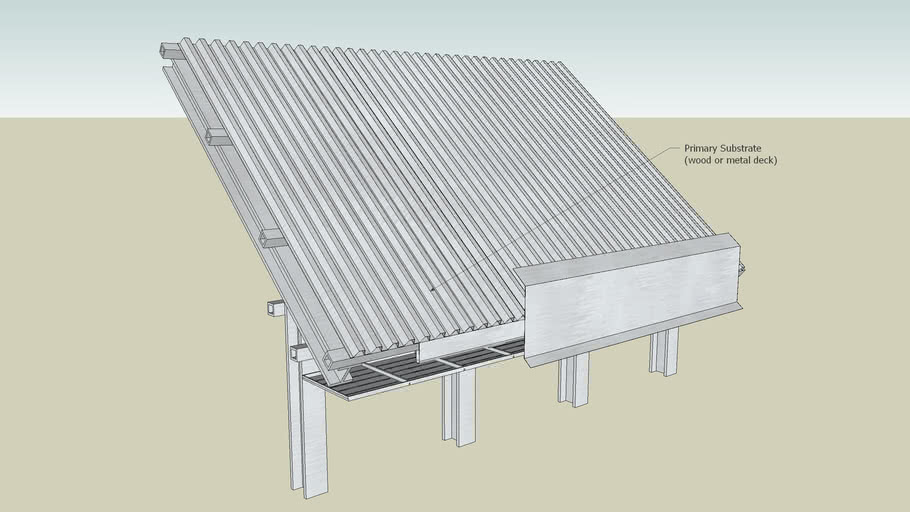 11 Dow Deckmate Plus Roof Insulation Steep Slope Roof Metal Framing 3d Warehouse