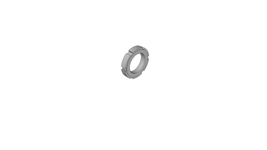 05590272 Slotted round nuts for hook spanner DIN 1804 M50x1.5