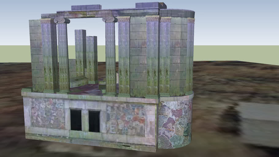 Schloss-Ruine Dwasieden Links