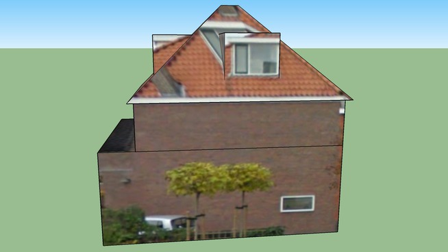 Building in Voorburg, The Netherlands