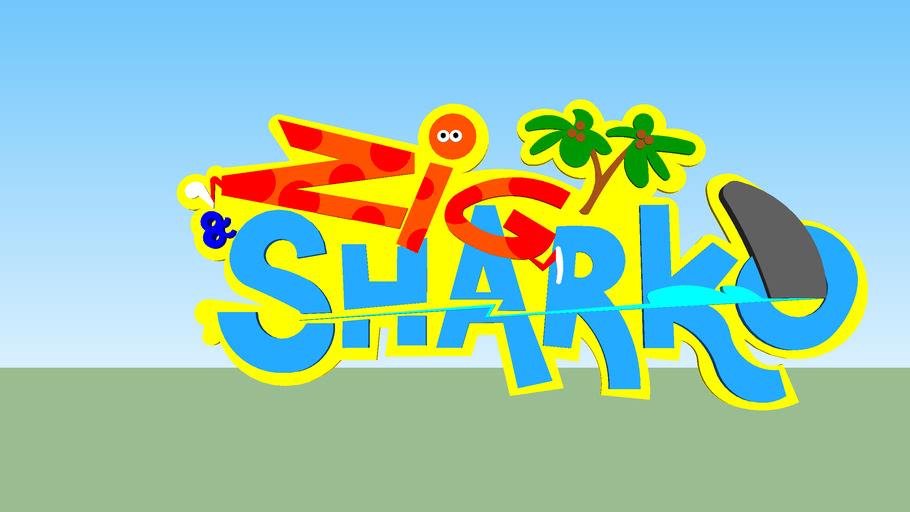 Zig And Sharko Logo 3d Warehouse