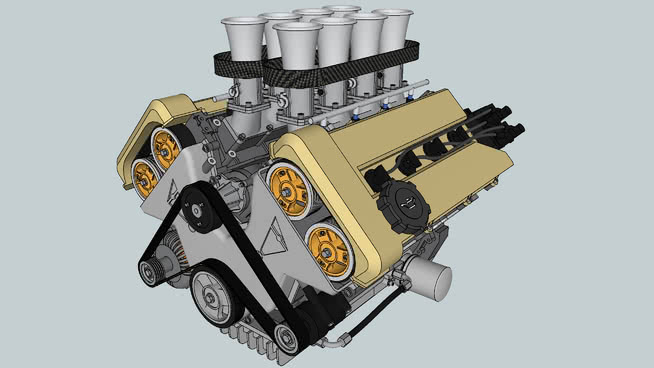 engines | 3D Warehouse