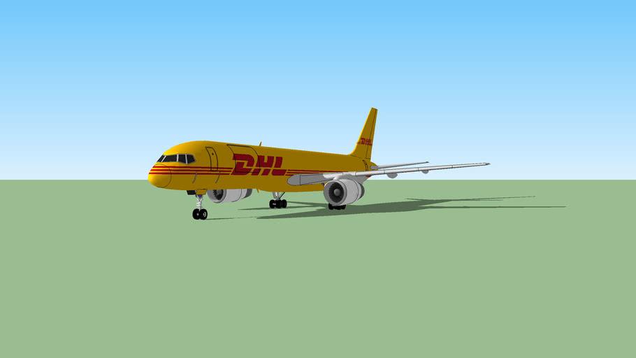 Boeing 757-200SF DHL