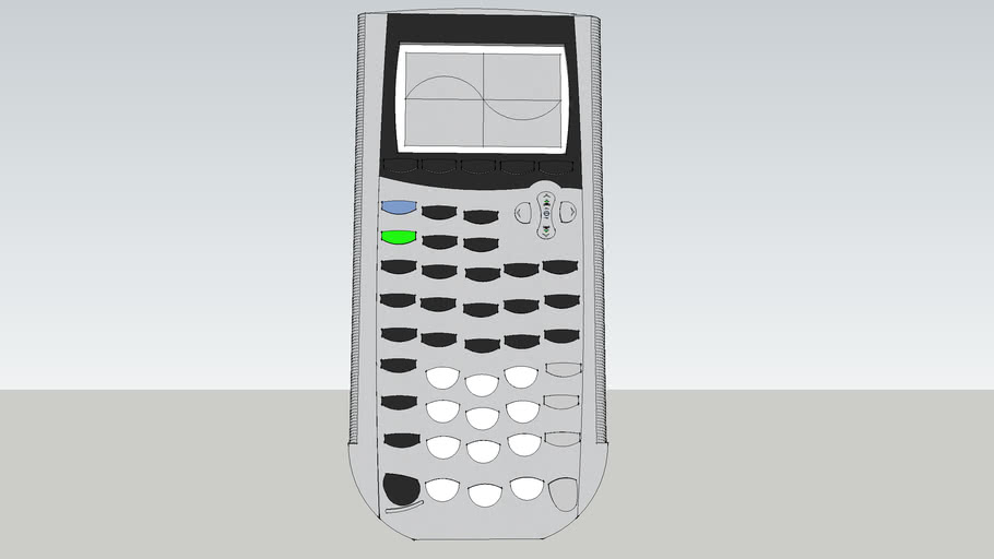 TI-84 Texas Instruments graphing calculator.