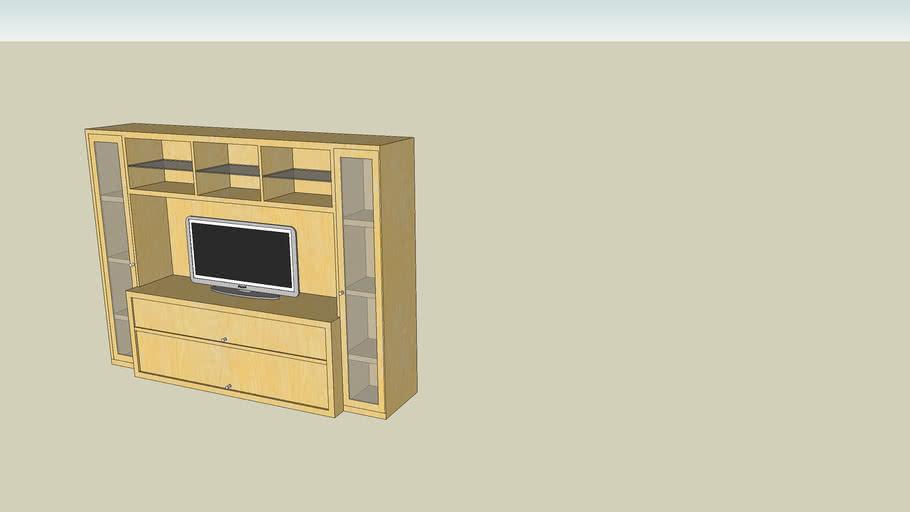 BONDE Mobile TV, combinazione IKEA