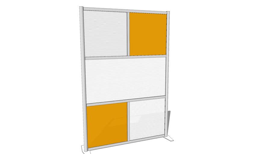 StudioWall Modern Room Divider by iDivideWalls.com